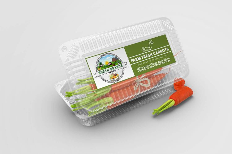Vegetable Package Design
