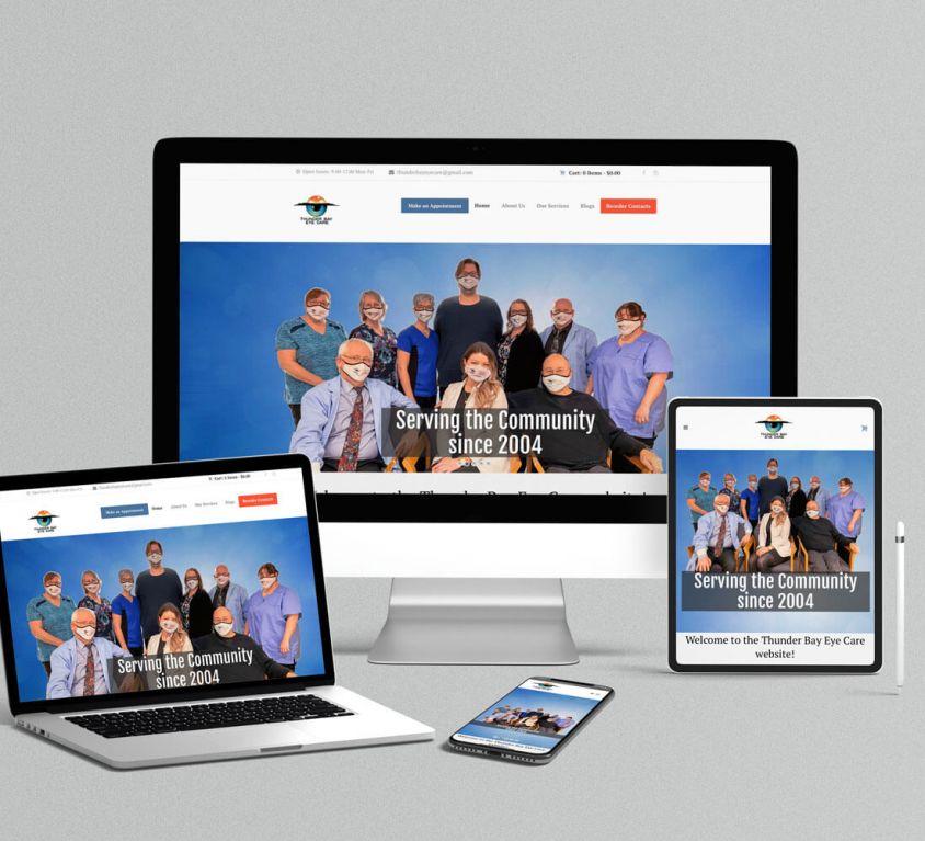 Thunder Bay Eye Care Website
